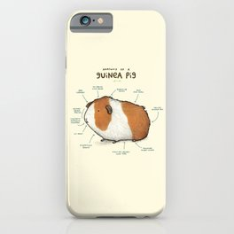 Anatomy of a Guinea Pig iPhone Case