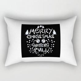 Merry Christmas Shtters Full Rectangular Pillow