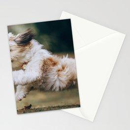 Dog by Helena Lopes Stationery Cards