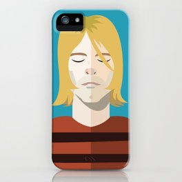 Dead Celebs Volume 1: Kurt iPhone Case