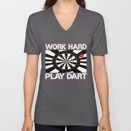 Darts Dart Board Darts Darts Darts Unisex V-Neck