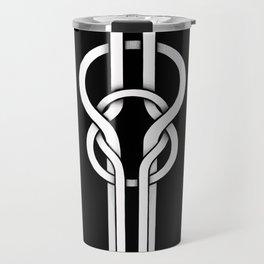 white knot Travel Mug
