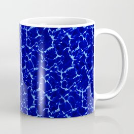 Hyperlink Deep Blue – '90s Water Graphics Coffee Mug