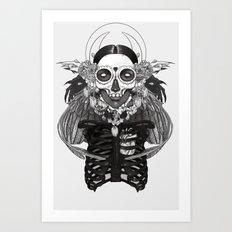 Las Muertitas: Sister Dark Art Print