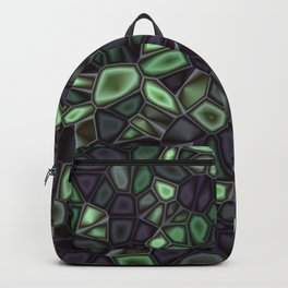Fractal Gems 04 - Emerald Dreams Backpack