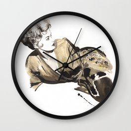 Kim Novak Wall Clock