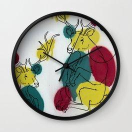 Ciervo Deer Wall Clock