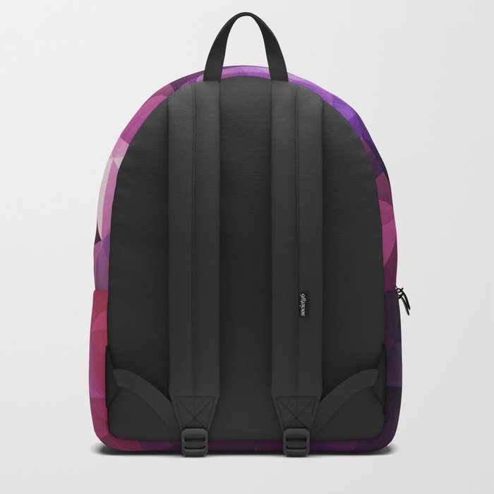Stylish geometrical print with polygonal triangles Backpack