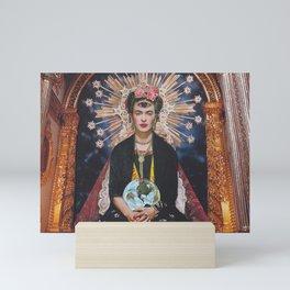 Queen Frida Mini Art Print