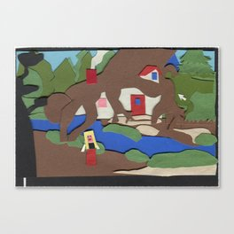 King's Quest IV: The Perils of Rosella Canvas Print
