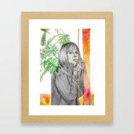 Summer time for Brits Framed Art Print