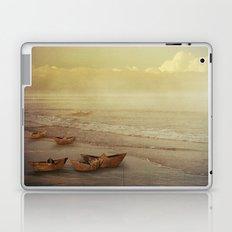 Paper Boats Laptop & iPad Skin