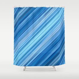 Ambient 1 in Blue Shower Curtain