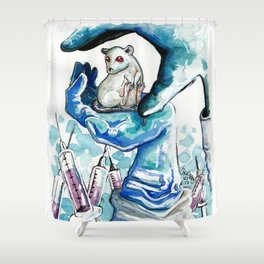 Responsibility Shower Curtain