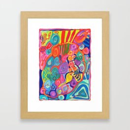 Jungle Nights Framed Art Print