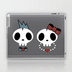punk rawk couple Laptop & iPad Skin