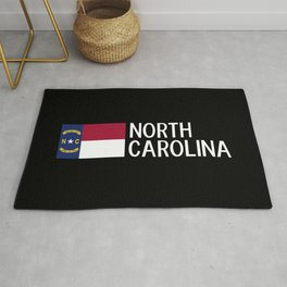 North Carolina: North Carolinian Flag Rug