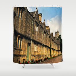 The Almshouses of Chipping Campden Shower Curtain