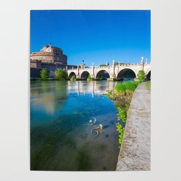Castel Sant'Angelo - Rome Poster