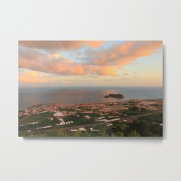 Vila Franca do Campo Metal Print