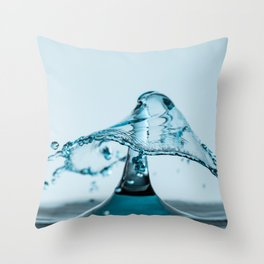 Water Drop 1 Throw Pillow