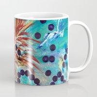 big bang Mugs featuring Big Bang by Art of Leki