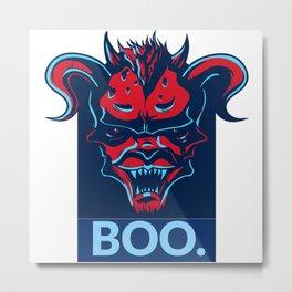 Boo. Demon Metal Print