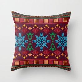 KRISMASI 3 Throw Pillow