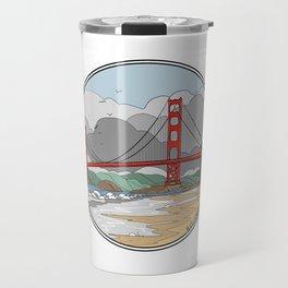 Baker Beach Travel Mug