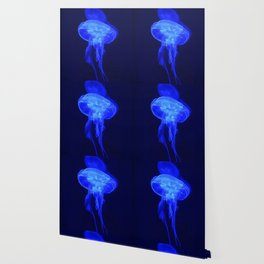 Blue Jelly Wallpaper