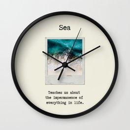 Small Emotional Dictionary: Sea Wall Clock