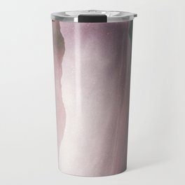 MM 412 . Pink Clouds x Silhouette Mountains Travel Mug