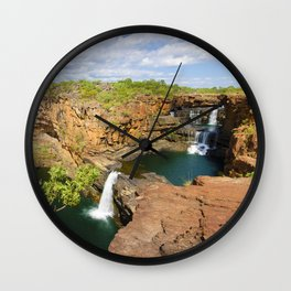 Mitchell Falls Wall Clock