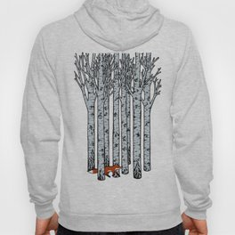 Fox in the Birches Hoody