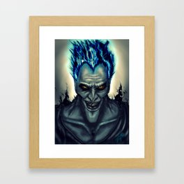 Hades Framed Art Print