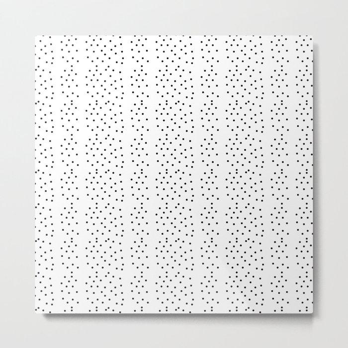 Random Polka ///www.pencilmeinstationery.com Metal Print