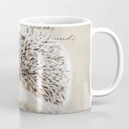 autumn fall harvest french botanical woodland animal hedgehog Coffee Mug