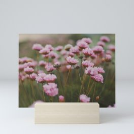 Pale Pink Flowers Mini Art Print