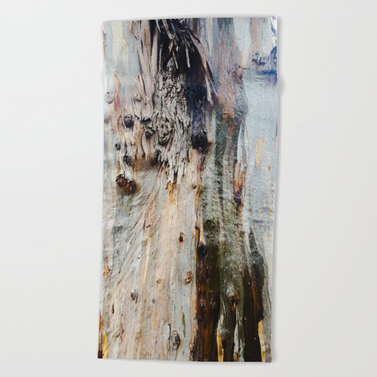 Colors of a Eucalyptus Beach Towel