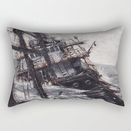 All Hands On Deck Rectangular Pillow