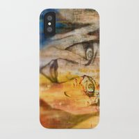 fear iPhone & iPod Cases featuring Fear by Jean-François Dupuis