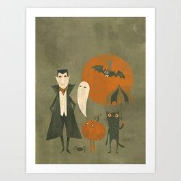 Soon Halloween Art Print