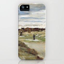 Vincent Van Gogh Bleaching Ground At Scheveningen iPhone Case
