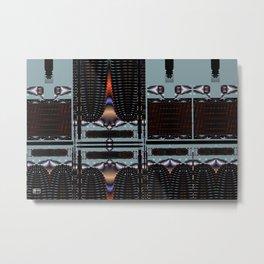 Curtain Call Metal Print
