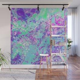 Fluid Acid Pool Marble Wall Mural