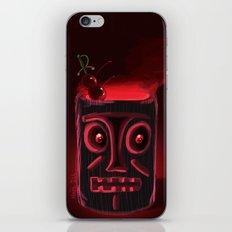 Tiki Black iPhone & iPod Skin