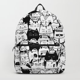 Itty Bitty Kitty Committee Backpack