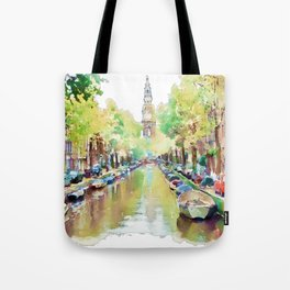 Amsterdam Canal 2 Tote Bag
