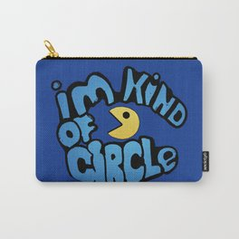 Pacman Kind Of Circle Carry-All Pouch
