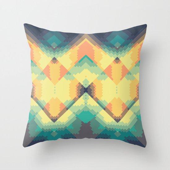 Life is nice Throw Pillow